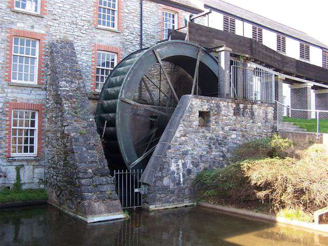 Buckfast Abbey Water Turbine