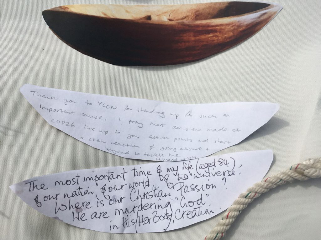 YCCN in Exeter - Canoe messages