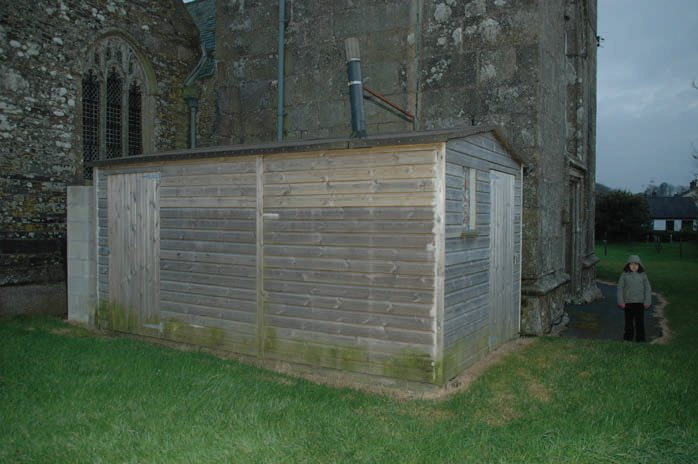 Composting toilets, Week St Mary