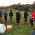 Interfaith tree planting in Exeter