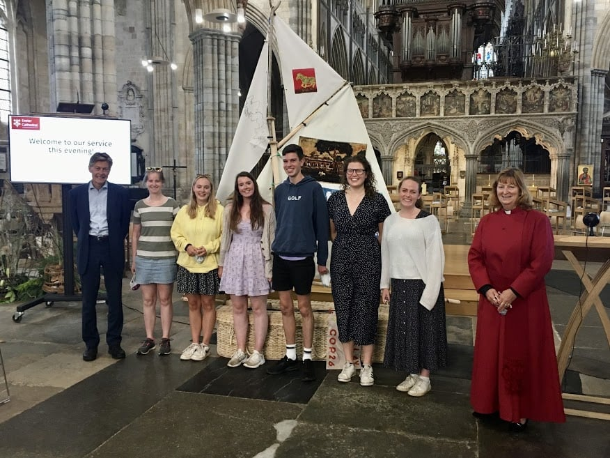 YCCN at Exeter Cathedral